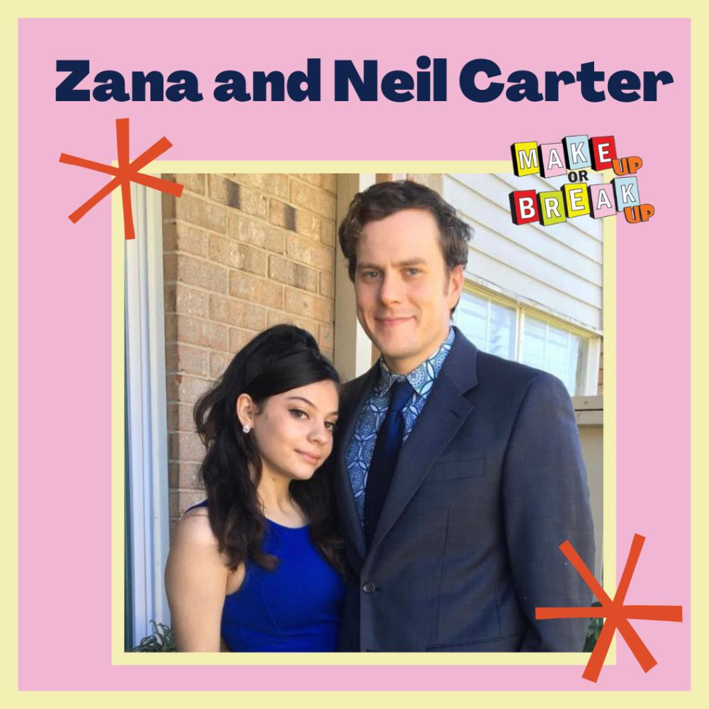Zana and Neil Carter