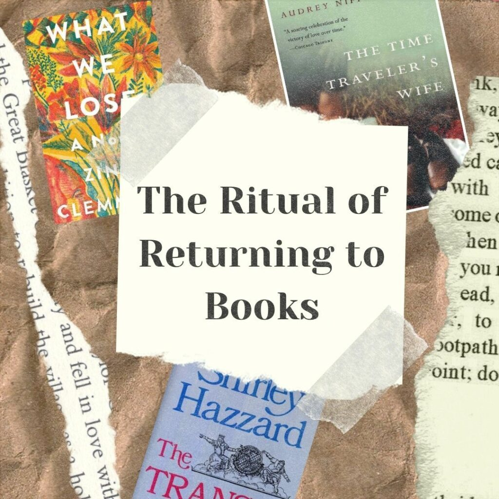The Ritual Of Returning To Books Cover Art