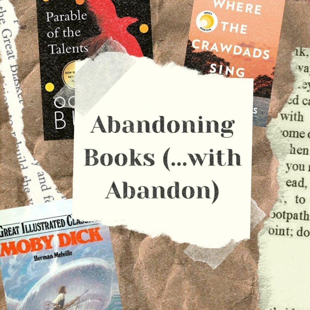 Abandoning Books Cover Art