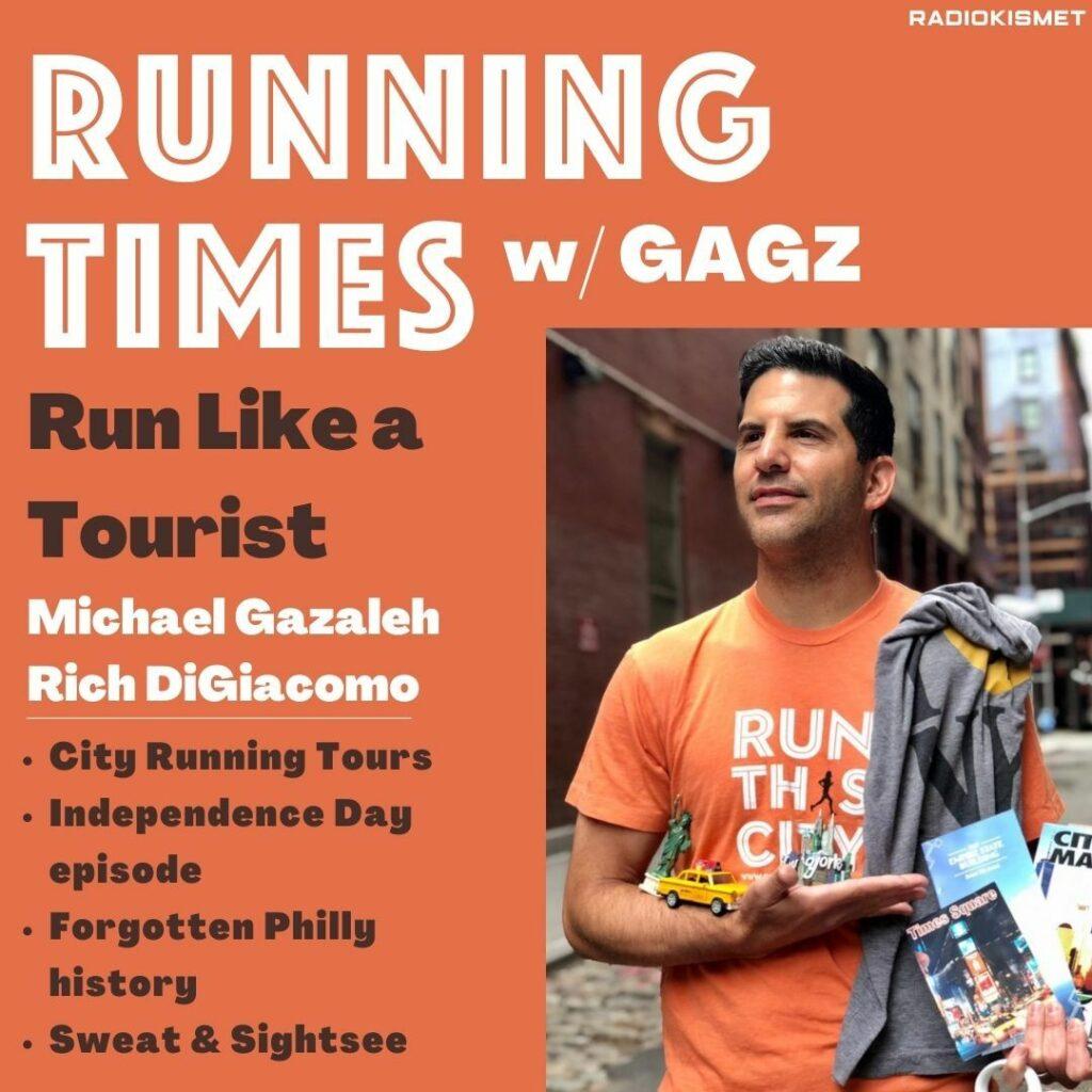 Run Like A Tourist Cover Art